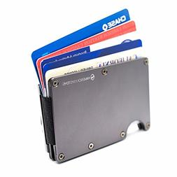 rfid blocking slim minimalist card holder travel