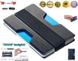 RFID Blocking Slim Wallet Thin Aluminum Minimalist Pocket ID