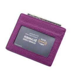 rfid blocking wallet slim front