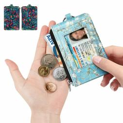 RFID Blocking Wallets Card Holder Coin Purse Credit ID Card