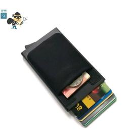 RFID Wallet Blocking Men Aluminum ID Credit Card Holder Pop