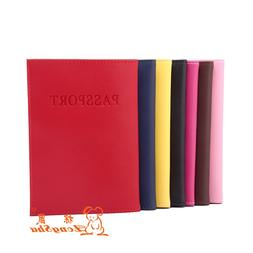 Russian travel genuine leather multiple passport cover cases