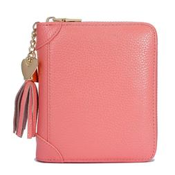 SafeCard Women's Credit Card Case Wallet 2 ID Window and Zip