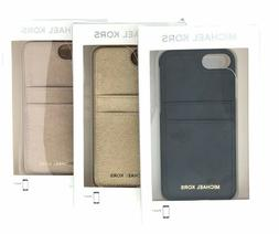Michael Kors Saffiano Leather Phone Case for iPhone 8/7/6S/6