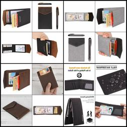 Slim Card Holder Front Pocket Wallet - Vegetable Tanned - HU