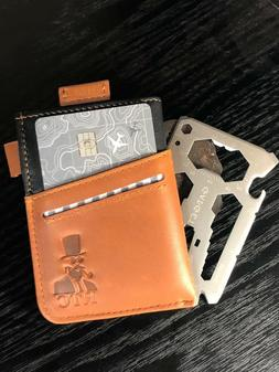 RTC slim wallet with 40 in 1 Multi tool, EDC credit card h