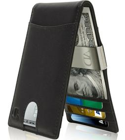 slim wallets for men with money clip