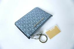 MICHAEL KORS SM COIN POUCH W/ ID KEY RING CARD HOLDER SIGNAT