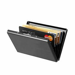 Maxgear Stainless Steel RFID Credit Card Holder for Women or