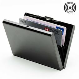 Steel Smart Credit Card Case Wallet RFID Technology Protect