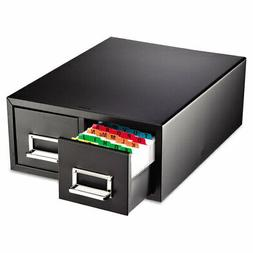 steelmaster double card file drawer