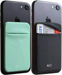 Stretch Card Sleeves Stick On Wallet for Cell Phone Card Hol