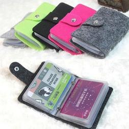womens bank credit id card holder soft