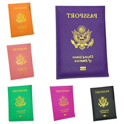 USA Passport Case ID Card Holder Cover Organizer Dazzling Fa