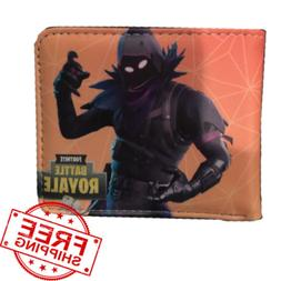 Video Game FORTNITE Wallet Short Men Purse With Card Holder
