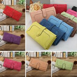 Women's Clutch Wallet PU Leather Long Credit Card Holder Has