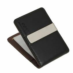 Y&G Men's Fashion Mens Leather Wallet Money Clip Credit Card