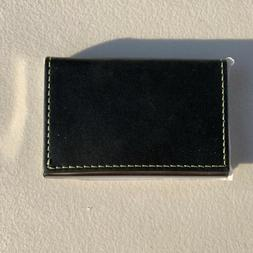 Y&G Men's Fashion Minimalist Leather Business Card Holder.
