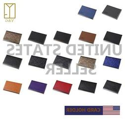 YDC05 Best Business Card Holder Leather PU Card Case Excelle